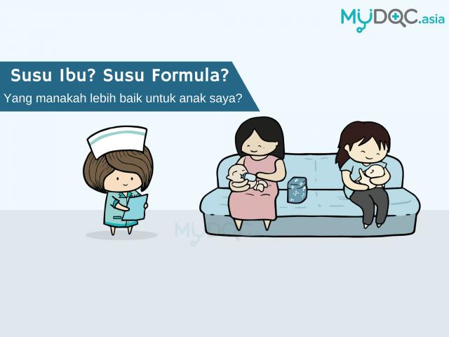 Penyusuan Ibu atau Susu Formula?