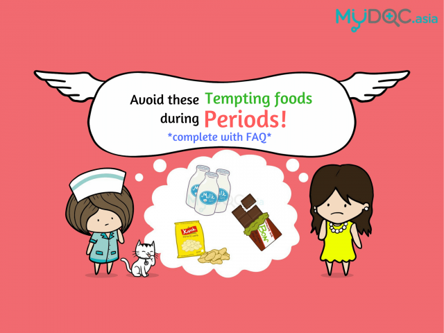 Four Tempting Foods You Should Avoid During Your Period