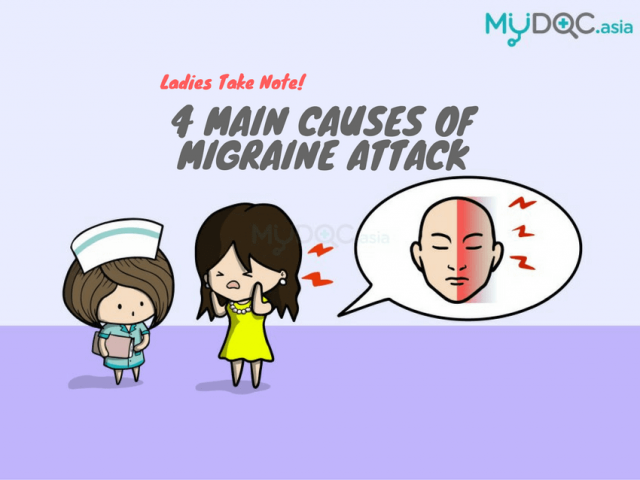 4 Main Causes of Migraine in Women You Must be Aware Of
