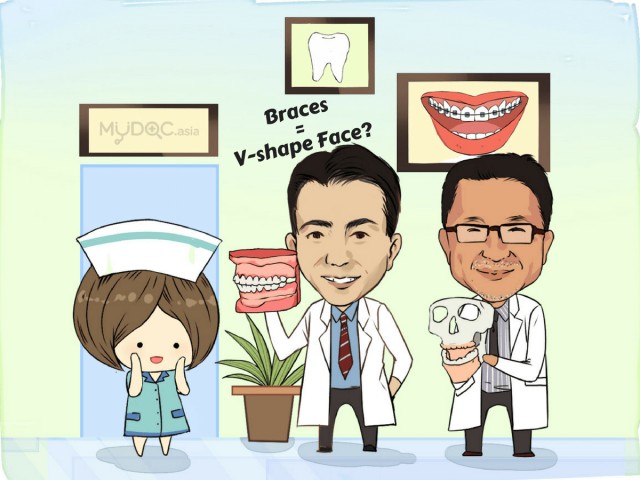 Ask the Doctors: V-Shaped Face through Dental Braces, Really?