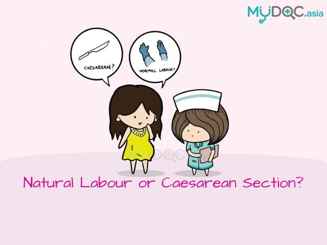 Natural Labour Vs Caesarean Section Erufu Care