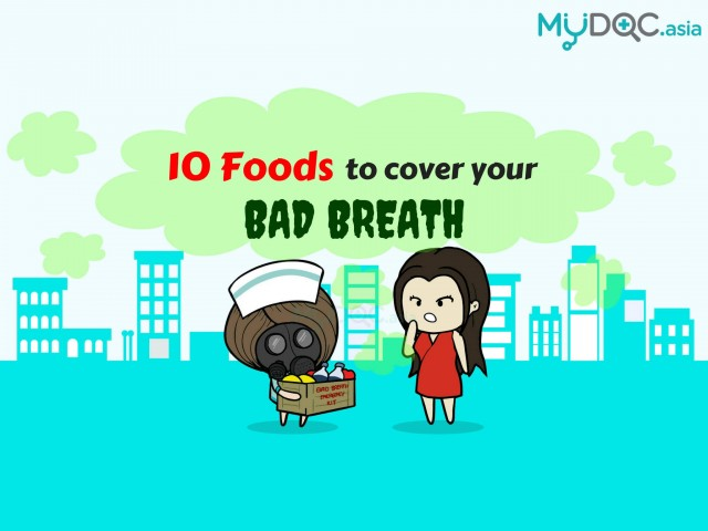 10 Foods to Instantly Cover Bad Breath Before Your Date