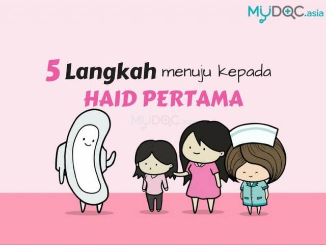 5 Langkah Persiapan Menstruasi Pertama Puteri Anda Dengan Sempurna