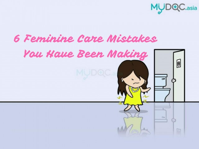 6 Feminine Care Mistakes You Have Been Making