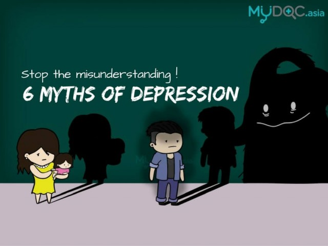6 Depression Myths You Need to Stop Believing In