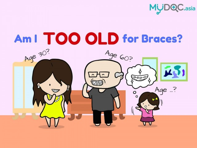 Ask the Doctors: Am I Too Old for Braces?