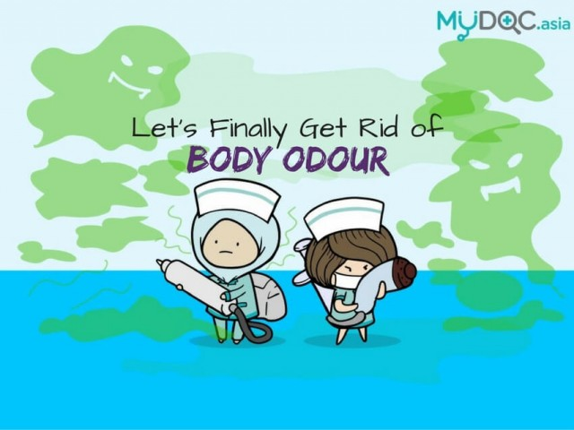 4 Medical Treatments For You To Finally Get Rid of Body Odour