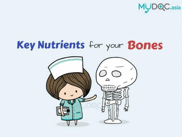 3 Key Nutrients from Foods for Your Healthy Bones