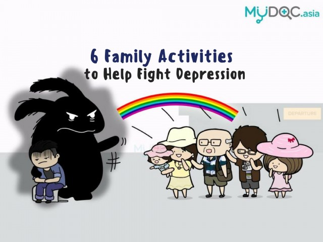6 Family Activities that Help Fight Depression