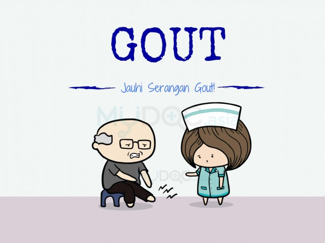 [Soalan Lazim] Lindungilah Diri Anda dan Orang Tersayang Daripada Penyakit Gout
