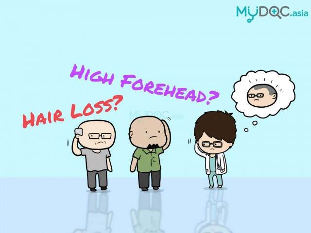 Do You Have Hair Loss Or Just a High Forehead?