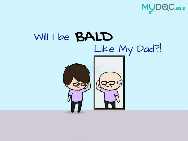 Will I be Bald like My Parents?