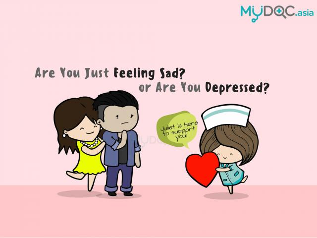 Am I Just Feeling Sad, or Depressed?