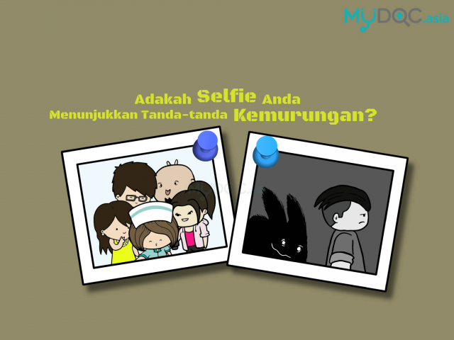 Sejauh Mana Swafoto (Selfies) Menunjukkan Tanda-Tanda Kemurungan