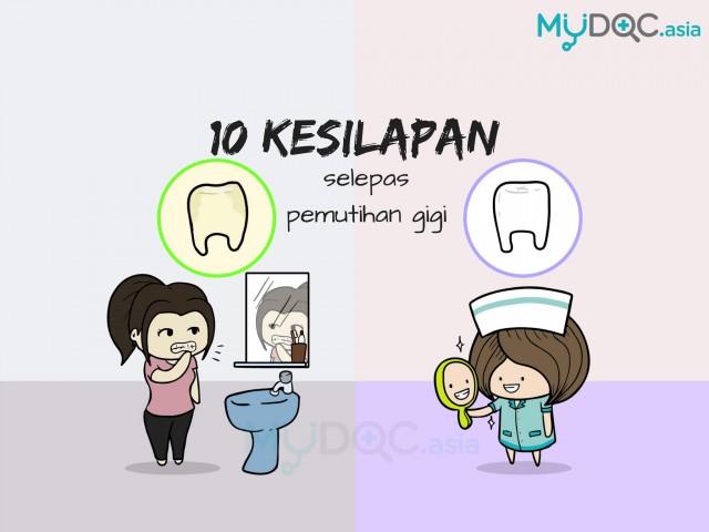 10 Kesalahan Penjagaan Yang Perlu Anda Ketahui Selepas Pemutihan Gigi