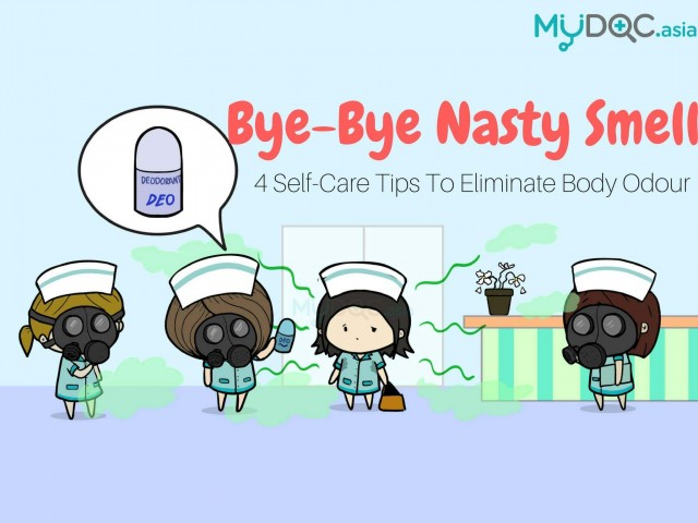 Bye-Bye Nasty Smell! 4 Self-Care Tips to Eliminate Body Odour
