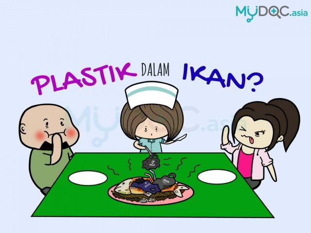 [Infografik] Anda Mungkin Sedang Makan Plastik Dalam Ikan!