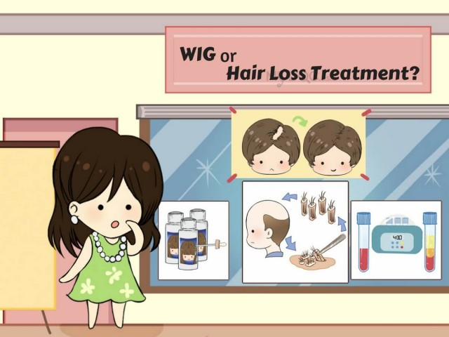 Get a Wig or Go For Medical Hair Loss Treatment?