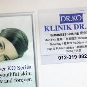 Dr Ko Clinic (Sungai Besi) - Business Hours