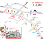 Oriental Melaka Straits Medical Centre (OMSMC) - Map Direction