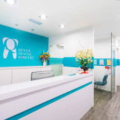 Queck Dental - Reception Area