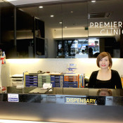 Premier Clinic (TTDI) Reception Desk