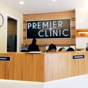 Premier Clinic Bangsar - registration counter