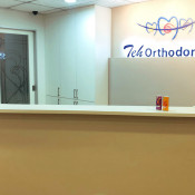 Teh Orthodontics - reception counter 1