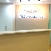 Teh Orthodontics - reception counter 4
