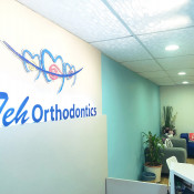 Teh Orthodontics - reception counter 3